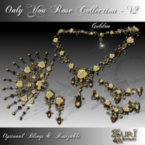 Zuri Rayna- Only You Rose Collection V2 GoldenPIC