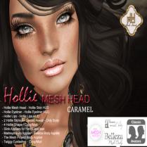 Hollie Mesh Head Vendor Caramel