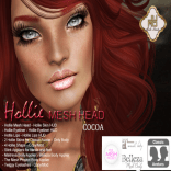 Hollie Mesh Head Vendor Cocoa