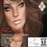 Hollie Mesh Head Vendor Honey