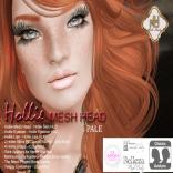 Hollie Mesh Head Vendor Pale