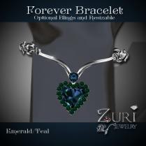 Forever Bracelet Emerald-Teal