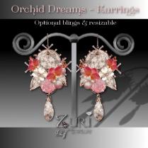 Orchid Dreams Earrings
