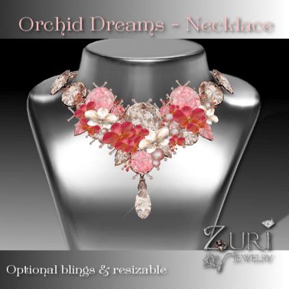 Orchid Dreams Necklace