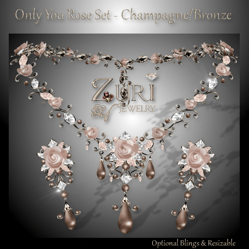 Only You Rose Champagne-Bronze
