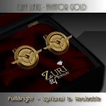 Cuff links - Aviator Gold
