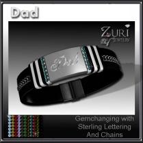 Dad Gemchanging Bracelet