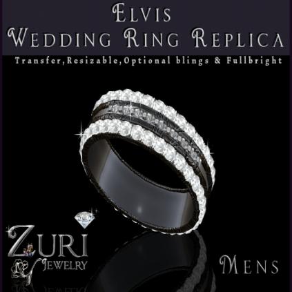 Elvis Wedding Ring Replica by Zuri Rayna