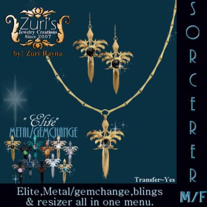 Sorcerer Elite MF Pendant by Zuri Rayna