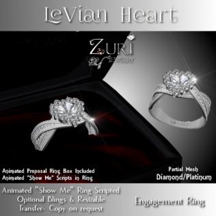 Zuri Rayna - LeVian Heart Engagement Diamond_PlatinumPIC