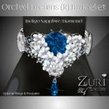 Zuri Rayna -Orchid Bracelet - Indigo Sapphire-Diamond (R)PIC