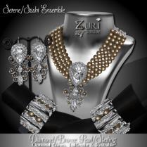 Zuri Rayna-Serene-Sashi Dangle -Diamond_Bronze_SterlingPIC