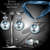 Serpo Collection - Sky_Pewter