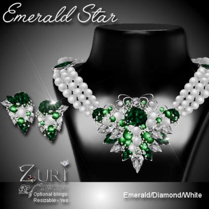Emerald Star Set
