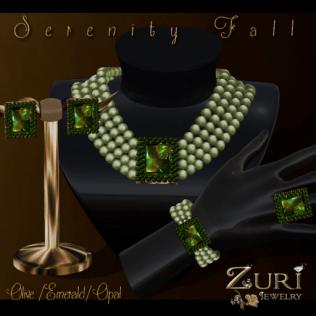 Serenity Fall Full Set-Olive-Emerald-Opal