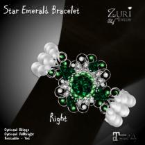 Star Emerald Bracelet