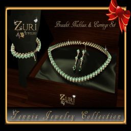 Tennis Jewelry Collection Jade Emerald