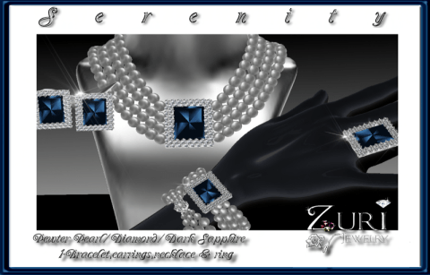 Zuri Rayna- Serenity Collection-Pewter Pearl_Diamond_SaphPIC