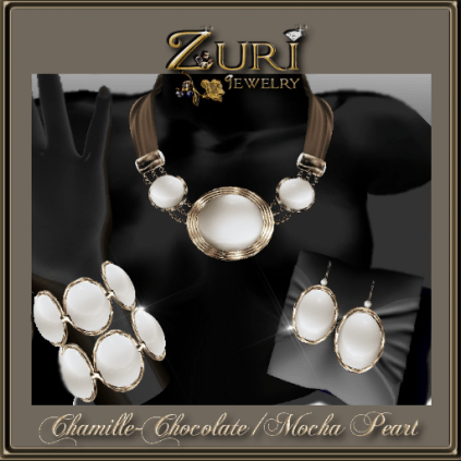 Chamille-Chocolate-Mocha Pearl- Zuri Jewelry