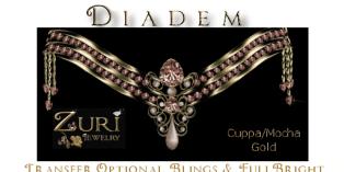 Diadem Cuppa Mocha Gold