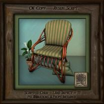 Tropics Med Patio Chair Left Br