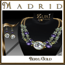 Madrid Jewelry Set-Beryl_Gold