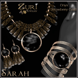 New Countdown up now Sarah Collection Onyx_Strawberry Gold