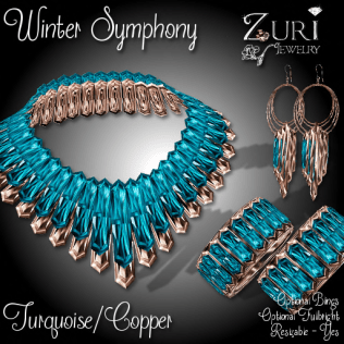 Winter Symphony Collection - Turquoise_Copper