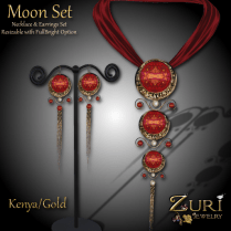 Zuri Rayna - Moon Set - Kenya_Gold