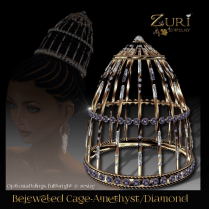 Bejeweled Cage-Amethyst_Diamond