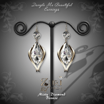 Dangle Me Beautiful Earrings - MistyDia-Bronze