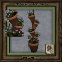 Terracotta Tower of Plants Ab