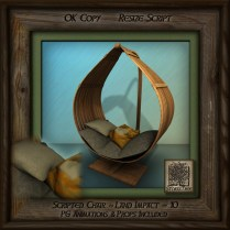 Tropics Teardrop Hanging Chair Ai