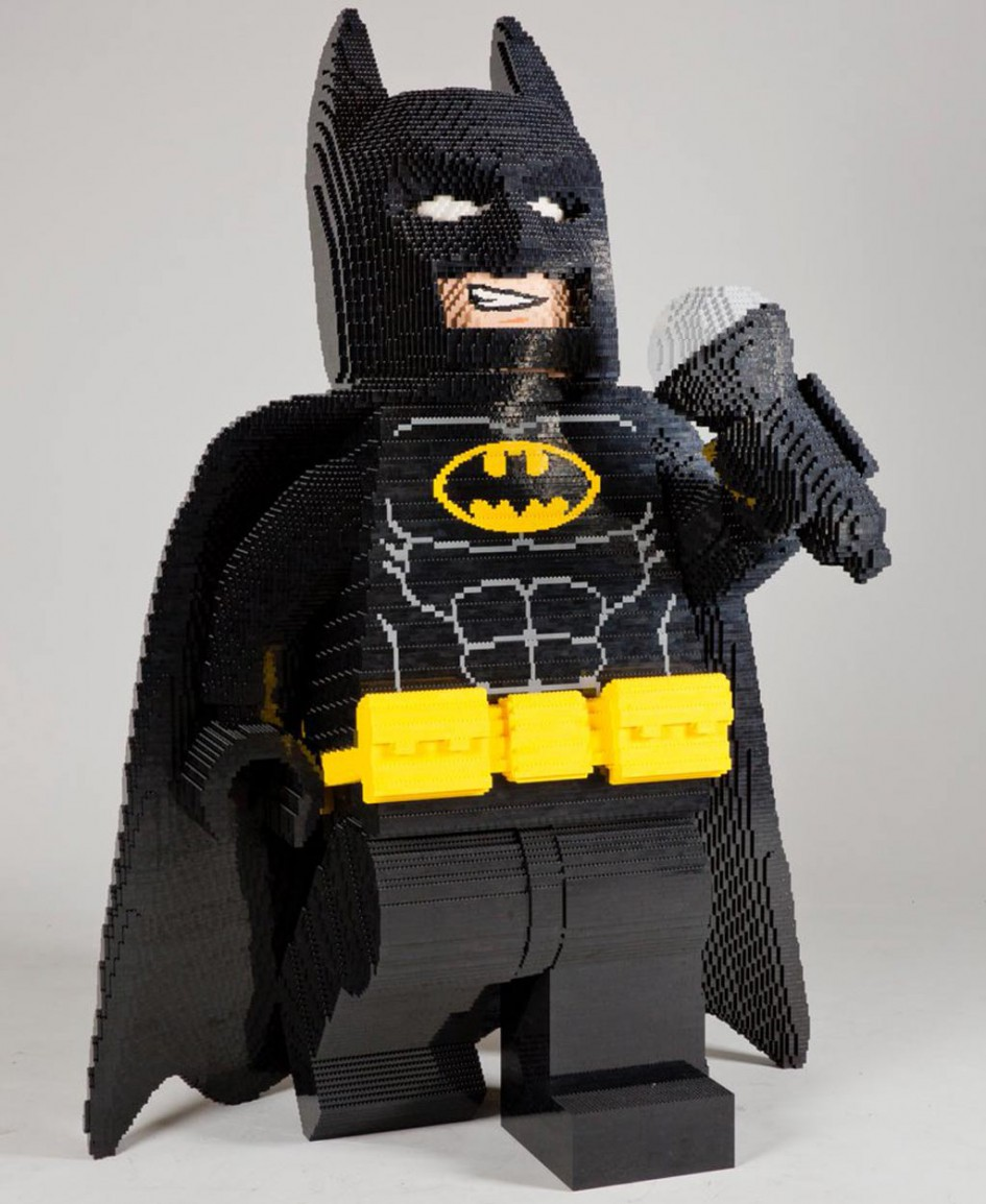 SDCC Batman sucht als XXL LEGOFigur die große Bühne