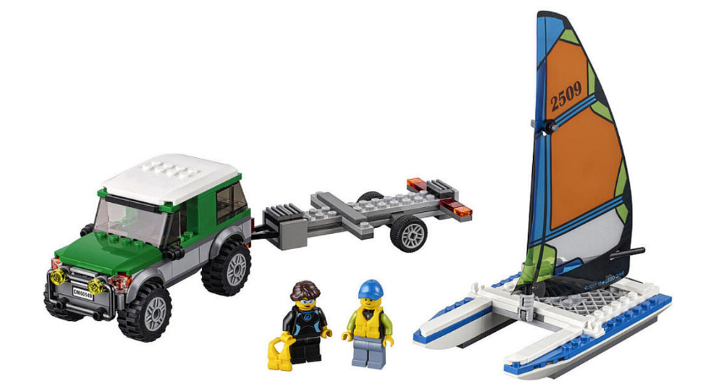 4x4 with Catamaran (60149) | © LEGO Group