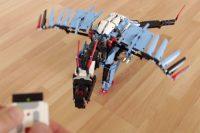 LEGO Mindstorms MOC: Der blaue Drachen | zusammengebaut