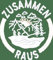 ZusammenRaus Logo Weiß