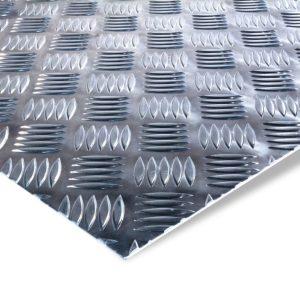 Aluminium-Riffelblech Zuschnitt nach Mass
