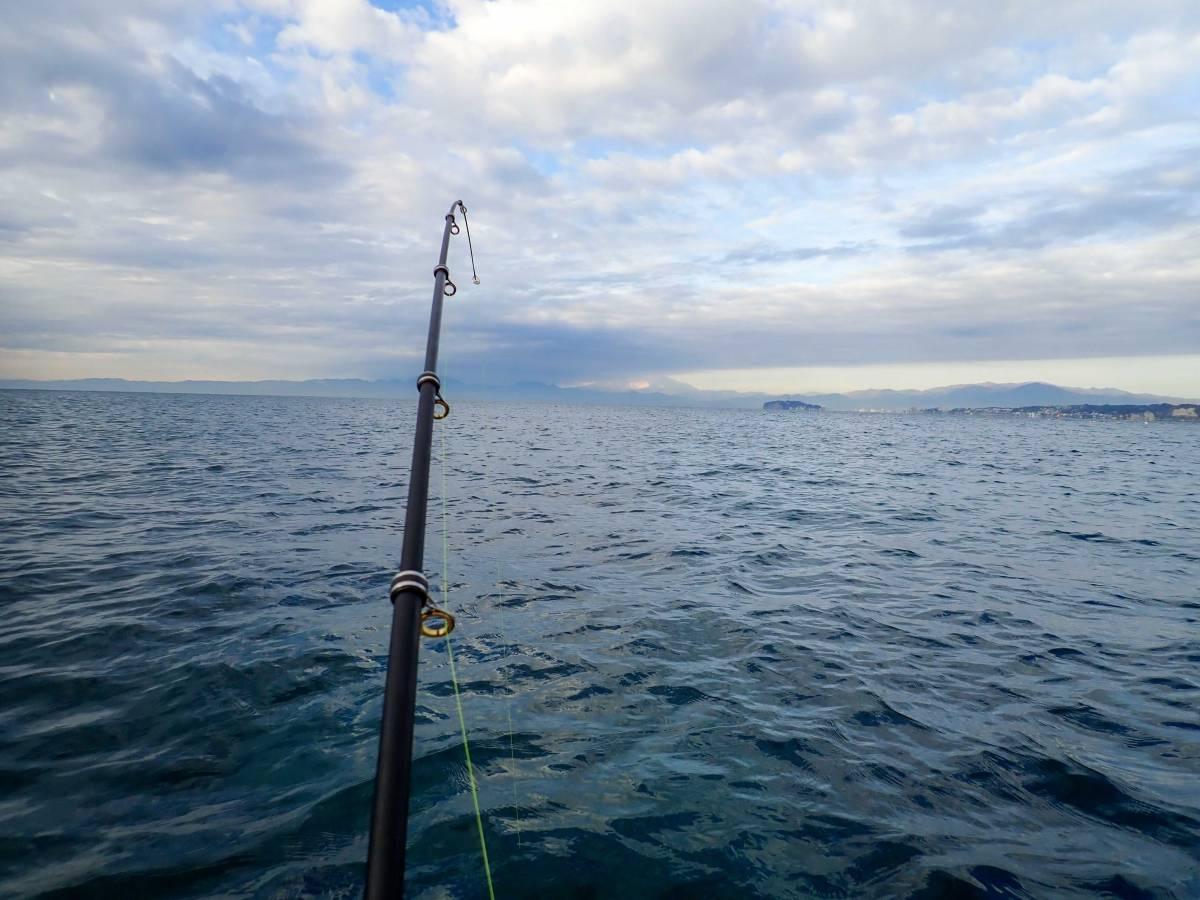 森戸の葉山釣具センターでボート釣りをやってみた②