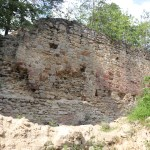 ruiny zamku Zawiszy Czarnego