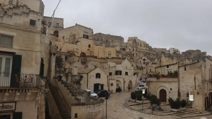 Budynki w skale, Matera