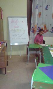 žiaci VO v komunitnom centre