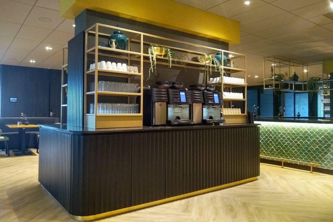 Design en maatwerk drankenbuffet in congress centrum Van der Valk Hotel Haarlem
