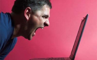 På internet är jag tuff…..
