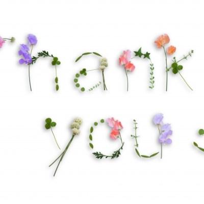 感謝の心を伝えたい