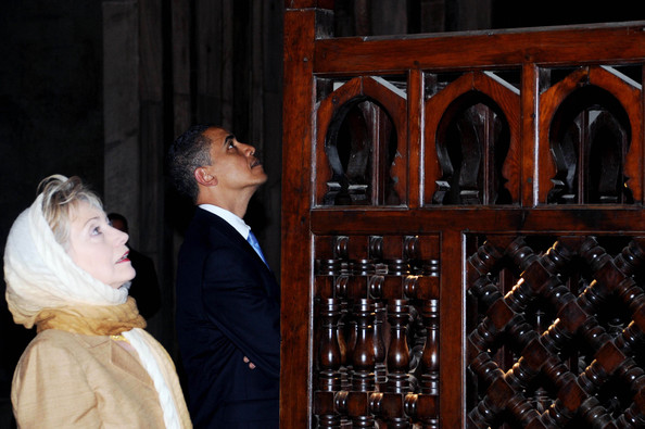 Obamaren hitzaldia Al Cairon