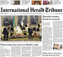 International Herald Tribune