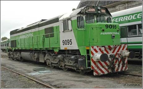 Buenos Aires-Tucuman trena.