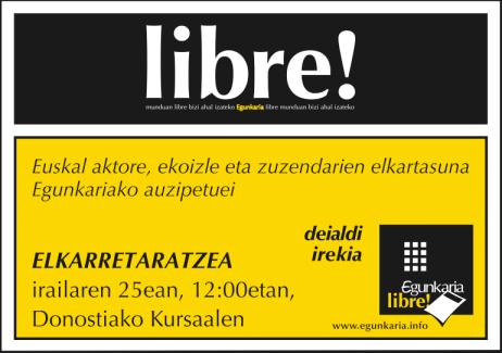 Egunkaria Libre!