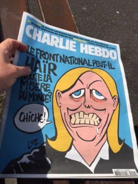 chiche - Charlie Hebdo aldizkarikoak